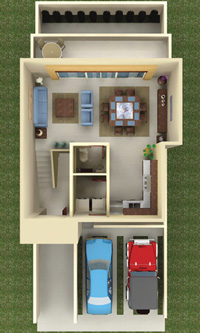 Casa Aguamarina Planta Alta