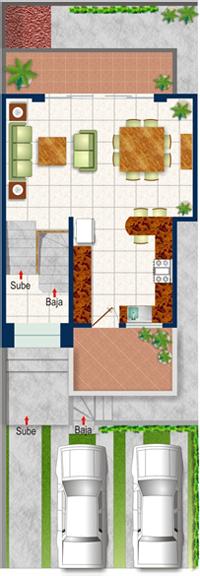 Casa Scarlata Planta Baja